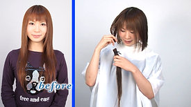 Hairmake & Haircut 小橋まよ Mayo Kohashi【full HD】