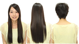 Premium Haircut AKI Arranging long hair, hair cut, short hair arrangement 【FullHD】 (