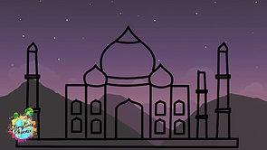 Taj Mahal comes alive with this beautiful Brain Break.