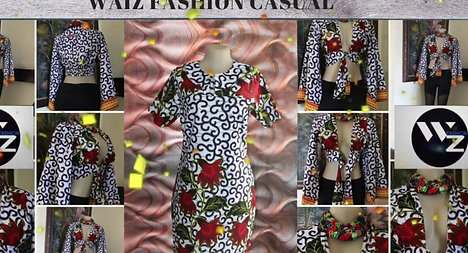 WAIZ LOOKBOOK YEBO MUSIC