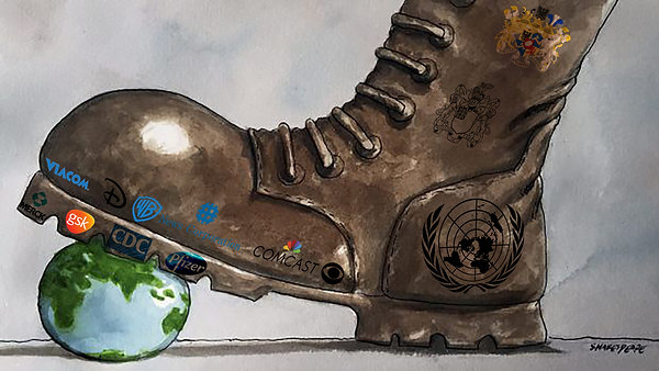 The Subterfuge of Globalist State's Corporate Weaponry.