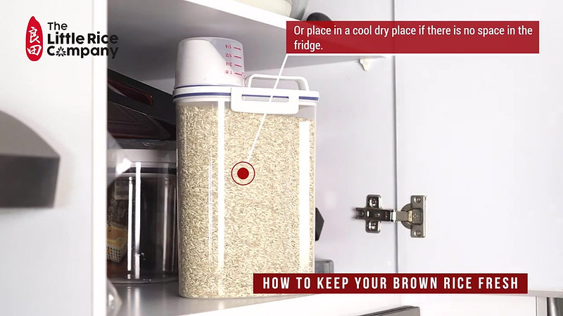 How to store your brown rice_