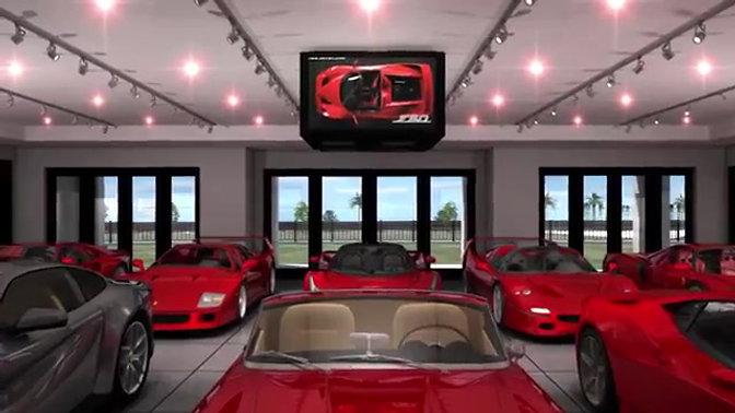 Custom Ferrari House