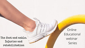 The Foot and ankle - injuries and rehabilitation