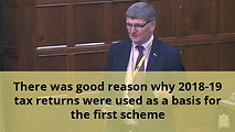 Covid Support Schemes debate 9th December 2020