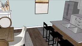 Townhome B - Huntington House Design - Traditonal