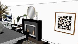Townhome B - Monterey Design - Modern & Bold