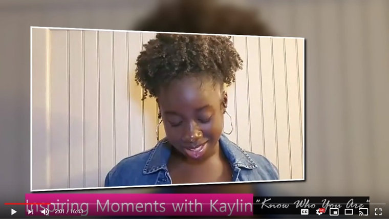 Inspiring Moments with Kaylin