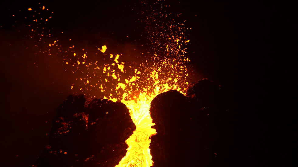 Volcanic Eruption Fagradalsfjall