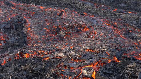Lava flow Geldingadalir