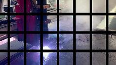 Plasma cutting 60mm