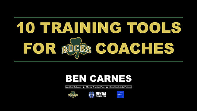 10 Tools for Coaches