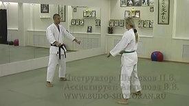 Karate. Shotokan.5 kyu. Part 2. The examination program 5 kiu. Party 2. www.budo-shotokan.ru