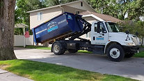 Placing Dumpster