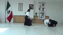 Katate tori- Sumi otoshi