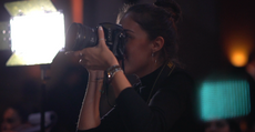 Aleks Victoria Photography BTS