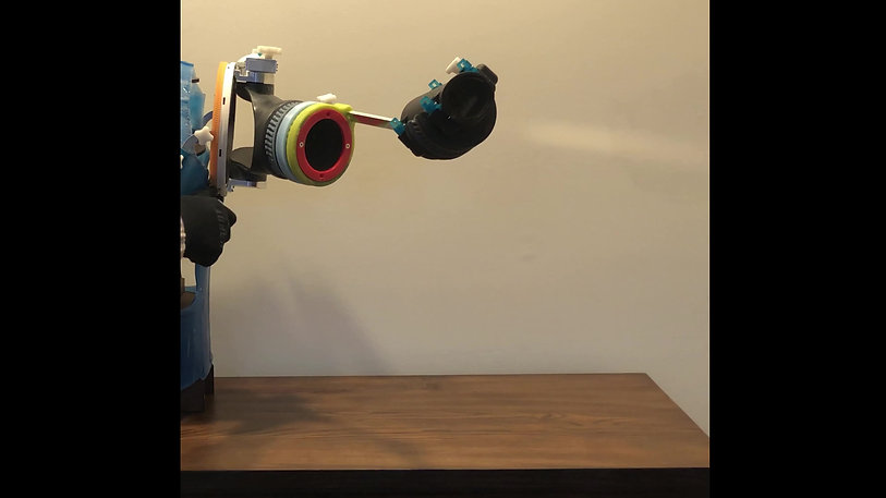 The ROM4 Splint - Shoulder Flexion/Extension Knob
