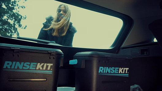 RinseKit - DIe mobile Hundedusche