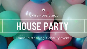 house party banner