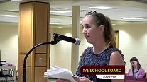 Everyone Reads TE Statement at August 27, 2018 School Board Meeting