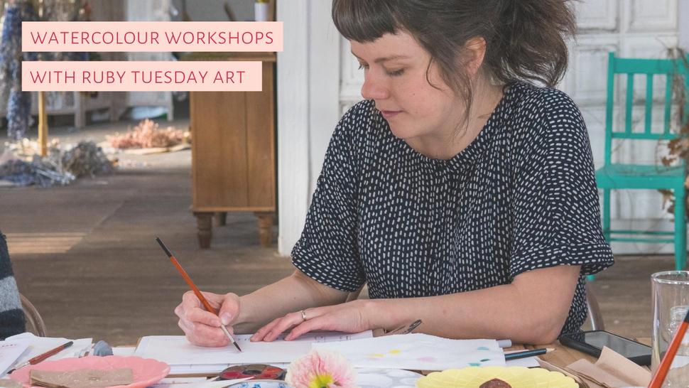 Watercolour Workshops Tasmania Ruby Tuesday Art