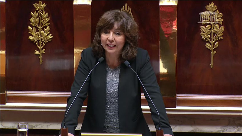 Intervention de Mme Corinne VIGNON. RETRAITES