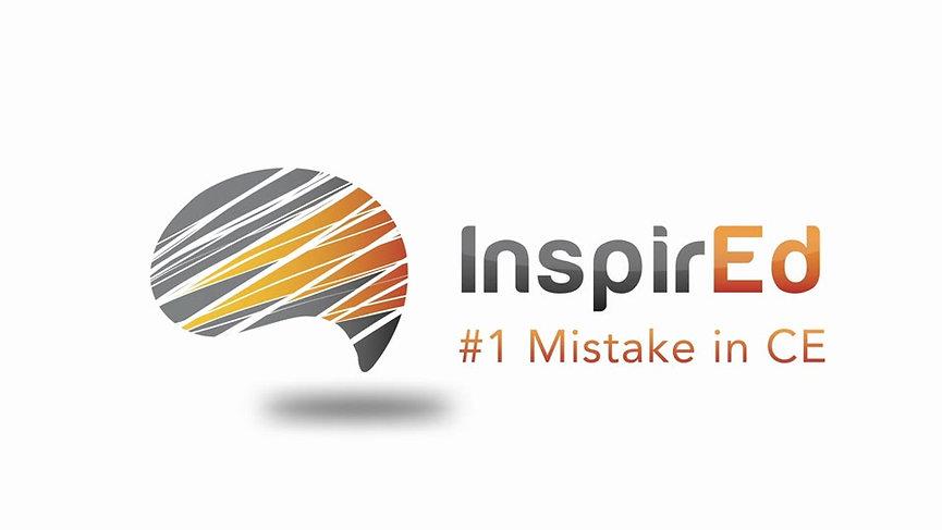 #1 CE Mistake