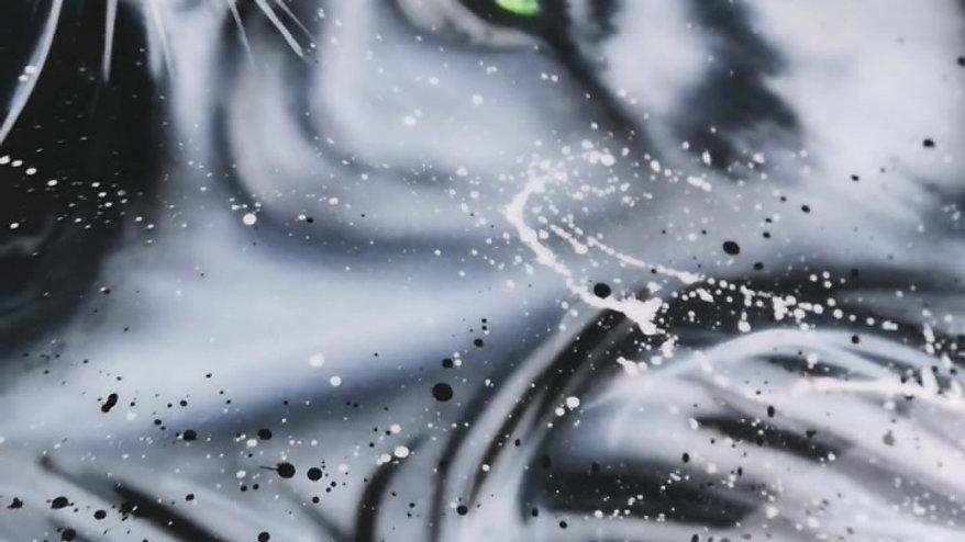 Löwe airbrush