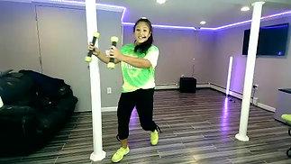 Cardio Toning Dance 9.24.20