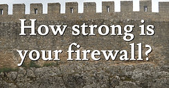 How strong is your firewall?