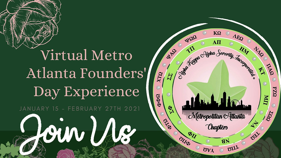 2021 Virtual Metro Atlanta Founders' Day Experience