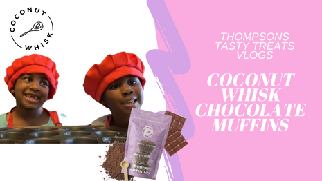Coconut Whisk Chocolate Muffins
