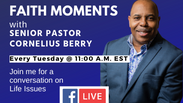 FAITH MOMENTS with Pastor Berry