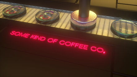 SOME KIND OF COFFEE CO. STAMP