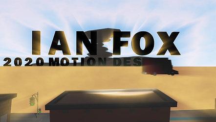 IAN FOX'S MOTION DESIGN REEL