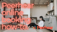 How to book with Peerhear