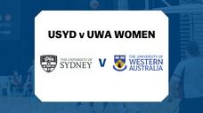USYD v UWA Women's highlights