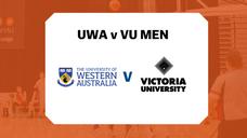 UBL Rd 2 MENS - UWA v VU Highlights