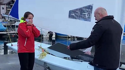 Swiss Sailing Awards Preisübergabe Anja