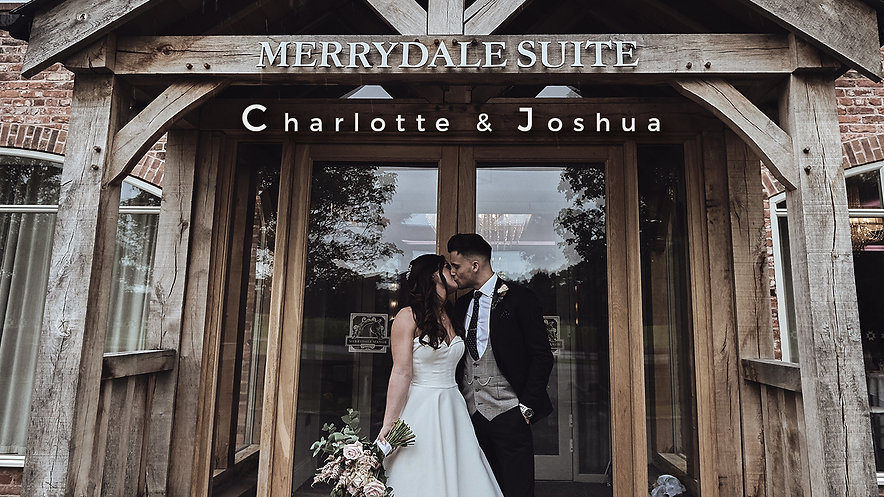 Romantic and beautiful Wedding of Charlotte and Joshua at Marrydale Manor