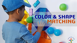 COLOUR AND SHAPE MATCHING