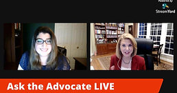 Ask the Advocate LIVE! 6/18/2020