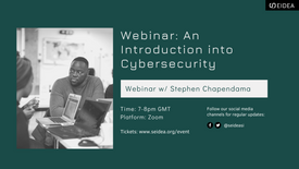 An Introduction into Cybersecurity w/ Stephen Chapendama