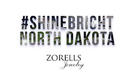 #ShineBright North Dakota – Zorells Jewelry