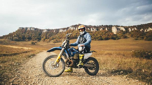 Обучение на мотоцикле эндуро