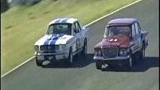R & S Valiants Racing at Oran Park Raceway in Sydney