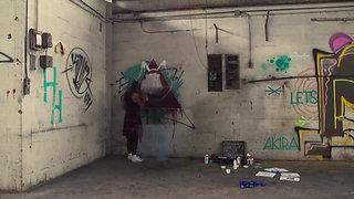 Live Graffiti Art   Rkdeeb