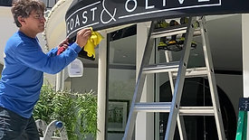 Coast & Olive / Montecito Inn Awning