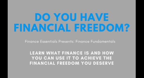 Finance Fundamentals