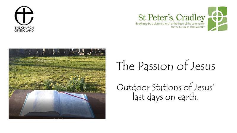 Stations of Jesus' Passion